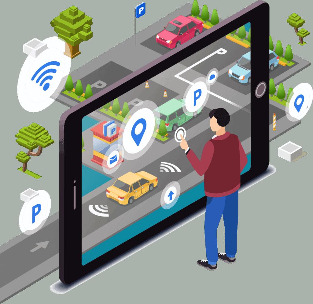 אפליקציית ניהול חניון
